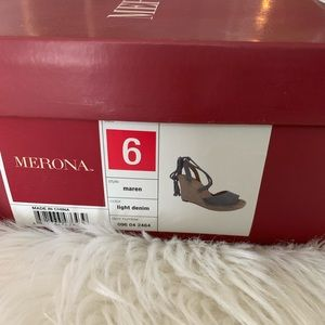 Merona Shoes - Light Denim Espadrilles